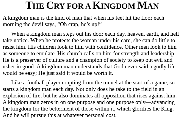 Kingdom Man by Tony Evans epub