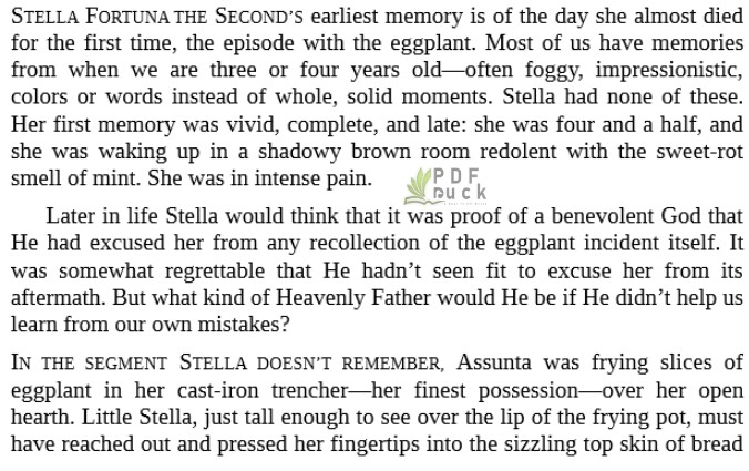 The Seven or Eight Deaths of Stella Fortuna by Juliet Grames pdf