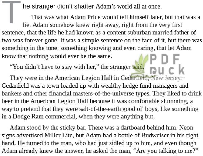 The Stranger by Harlan Coben epub