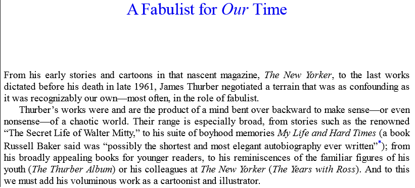 Collected Fables by James Thurber epub