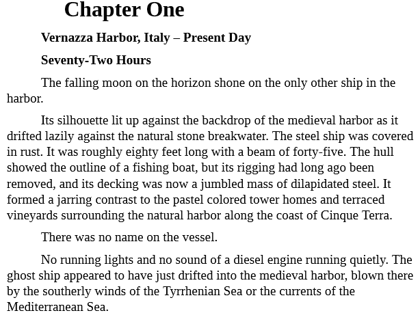 Ghost Ship by Christopher Cartwright epub