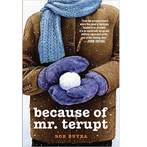 Because of Mr.Terup by Rob Buyea