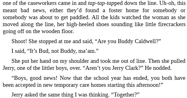 Bud, Not Buddy by Christopher Paul Curtis epub