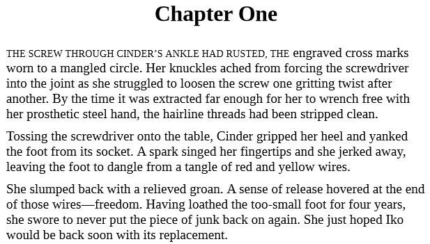 Cinder by Marissa Meyer epub