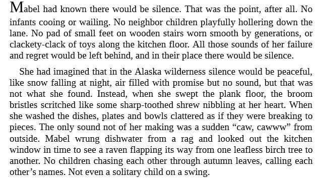 The Snow Child by Eowyn Ivey epub