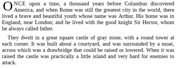 King Arthur and His Knights By Maude L. Radford