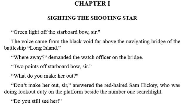 The Battleship Boys' First Step Upward By Frank Gee Patchin