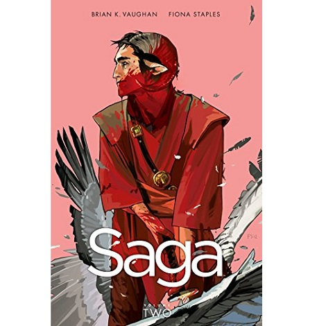 Saga, Vol. 2 by Brian K Vaughan