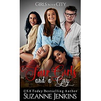 Four Girls and a Guy by Suzanne Jenkins