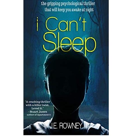 I Can't Sleep by J.E. Rowney