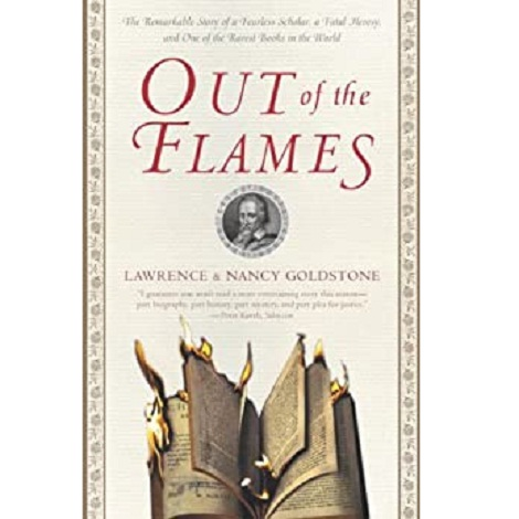 Out of the Flames by Goldstone Lawrence