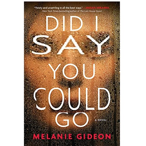 Did I Say You Could Go by Melanie Gideon